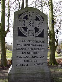 Monument on  Mount Saint Agnes in Zwolle.