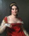 """Lady in red wearing a tiara"".JPG"