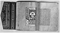 """Laila and Majnun in School"", Folio 129 from a Khamsa (Quintet) of Nizami MET 74849.jpg"