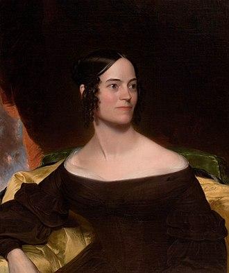 William Edward West - Elizabeth Calvert by William Edward West, Johnson Collection, Spartanburg, South Carolina, 1839