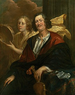 'Portrait of a Musician with his Muse' by Jacob Jordaens
