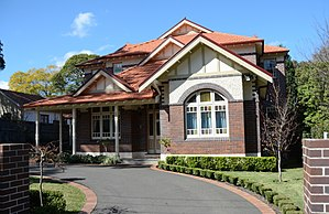 Beecroft, New South Wales - Federation style cottage, Beecroft