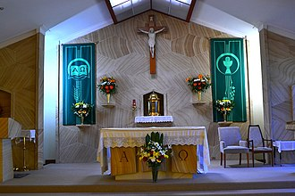 Pagewood, New South Wales - Image: (1)Our Lady of the Annunciation Catholic Church 4