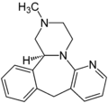 (S)-Mirtazapin Structural Formulae.png