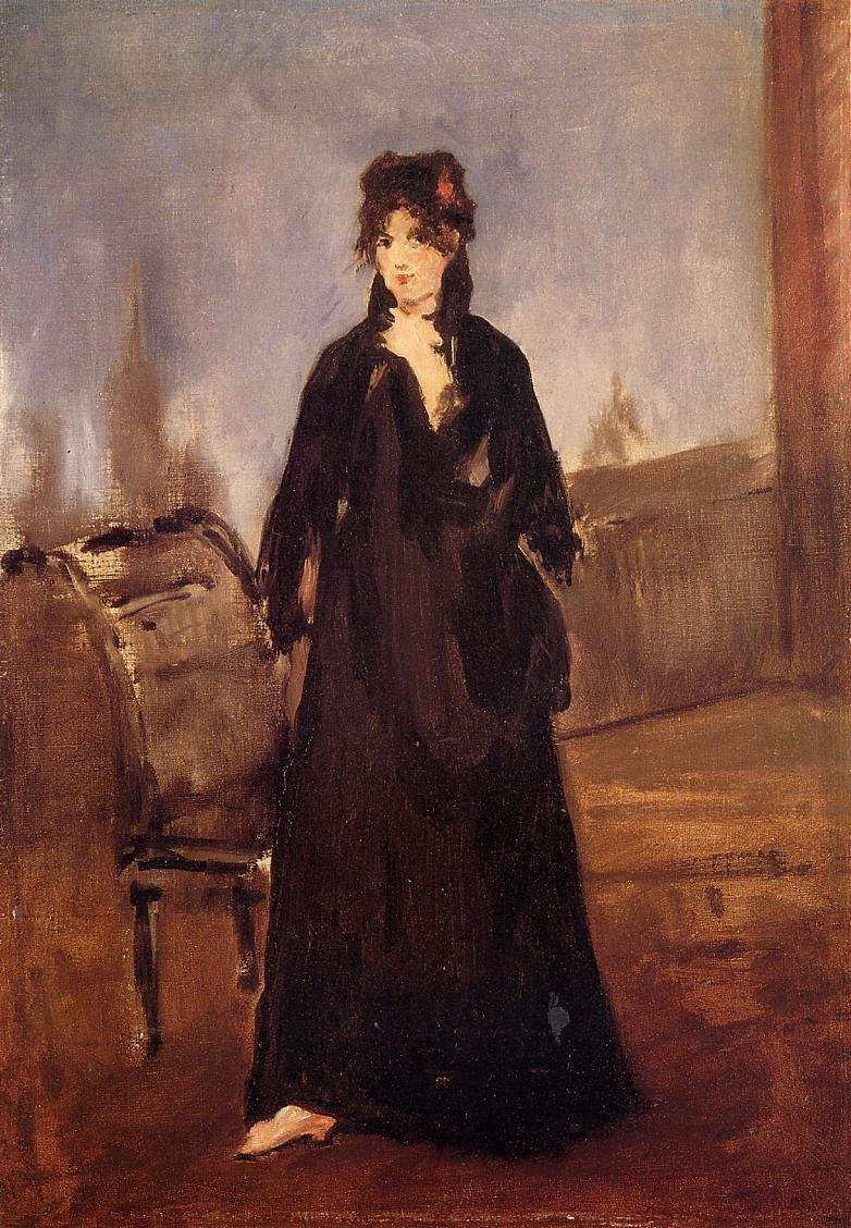 Édouard Manet - Berthe Morisot au soulier rose