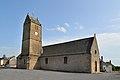 Église Notre-Dame-de-l'Assomption de Coulouvray-Boisbenâtre. Vue nord-ouest.jpg