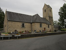 The church of Saint-Sauveur