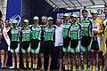 Österreich-Rundfahrt 2013 Wien Siegerehrung Riccardo Zoidl und Team 01.jpg