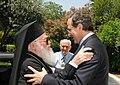 Αντώνης Σαμαράς - Συνάντηση με Αρχιεπίσκοπο Αλβανίας 7727799374.jpg