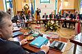 Συμμετοχή Αντιπροέδρου της Κυβέρνησης και ΥΠΕΞ Ευ. Βενιζέλου στην Υπουργική Συνάντηση Visegrad+3 (Bουδαπέστη, 24.02.2014) (12746097974).jpg