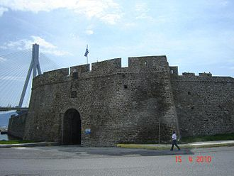 Antirrio - Antirrio Fortress