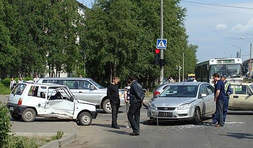 Автомобильная авария в Северодвинске