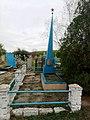 Братська могила червоноармійців на кладовищі. с. Благовіщенка, Більмацький район, Запорізька область.jpg
