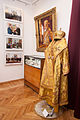 Виставка пам`яті Блаженнішоо Митрополита Мефодія в Тернополі. Облачення і фотографії митрополита.JPG