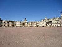 Гатчинский дворец. Дворцовый плац..JPG