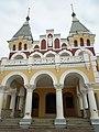 Главный дом усадьбы фон Дервиза, фасад, Кирицы, Спасский район, Рязанская область.jpg