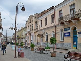 City of district significance in Lviv Oblast, Ukraine