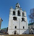 Звонница с церковью Богоматери Печерской. Спасо-Преображенский монастырь.jpg
