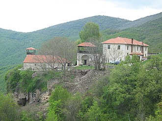 Zrze Monastery - View to the whole complex