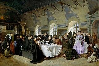 Monastic meal