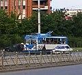 Троллейбус на улице Луначарского.JPG