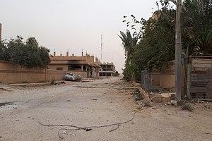 Abu Kamal - Abu Kamal, one of the districts (november 19, 2017)