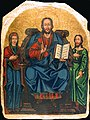 Христос Учитель с Богородицей и Иоанном Крестителем из собрания ДОХМ.jpg