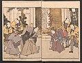 """『俳優三階興』-Amusements of Kabuki Actors of the """"Third Floor"""" -Dressing Room- (Yakusha sangaikyō), by Shikitei Sanba MET JIB38a 008.jpg"""