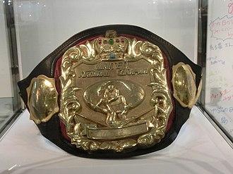 NWA United National Championship - The NWA United National Championship belt