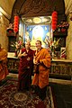 大寶法王噶瑪巴與大會主席 堪祖蔣康仁波切 - HH 17th Karmapa and the Chairman, Khentrul Gyang Khang Rinpoche (12483189574).jpg