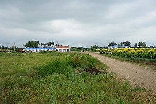Angangxi District District in Heilongjiang, Peoples Republic of China