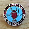 -2019-08-17 Enamel Aston Villa football badge, European cup winners.JPG