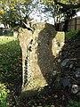 -2019-11-13 Weather worn Headstone, Trimingham churchyard.JPG
