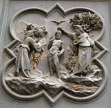 Battesimo Di Cristo Ghiberti Wikipedia