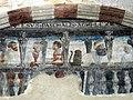 093 Sant Jeroni de la Murtra, refetor, pintura mural de Carles I.JPG