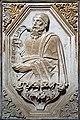 0 Venise, 'Ezechiel' - Bas relief en marbre - Sta Maria Gloriosa dei Frari.JPG