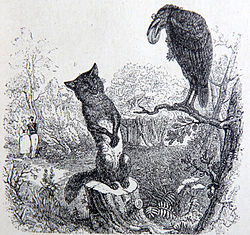 Image illustrative de l'article Le Corbeau et le Renard