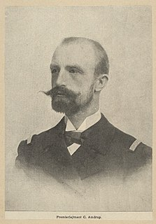 Georg Carl Amdrup Danish naval officer and Greenland researcher