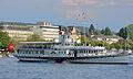 100 Jahre Dampfschiff 'Stadt Rapperswil' - Tag der offenen Dampfschiff-Türe am Bürkliplatz - Alpenquai 2014-04-26 17-48-37 (P7700).JPG