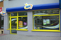 12 Kościuszki Street in Sanok (2015), Lotto.jpg