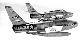 836th Air Division - 12th Tactical Fighter Wing F-84Fs