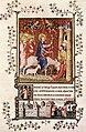 14th-century painters - Page from the Très Belles Heures de Notre Dame de Jean de Berry - WGA16010.jpg