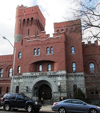 14th Regiment Armory, Brooklyn - Image: 14th Regiment Armory central section