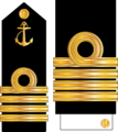 Captain Insignia of Iran's Navy