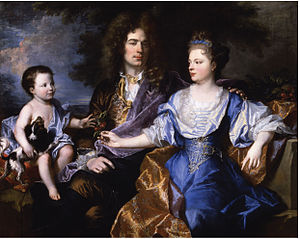 Portrait of the Léonard family
