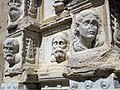 16 Santa Maria de Calella, retaule dels Apòstols, a la façana oest.JPG