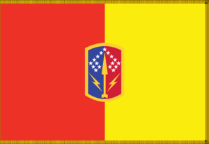 174th Air Defense Artillery Brigade (United States) - Organizational colors of the 174th Air Defense Artillery Brigade.
