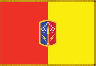 174th Air Defense Artillery Brigade (United States) - Organizational colors of the 174th Air Defense Artillery Brigade.