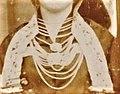 1800 Tracht Oldershausen Marschacht - Winser Marsch-Tracht 18. Jahrhundert- Frau Halskette.jpg