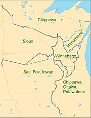 1825 Prairie du Chien Line